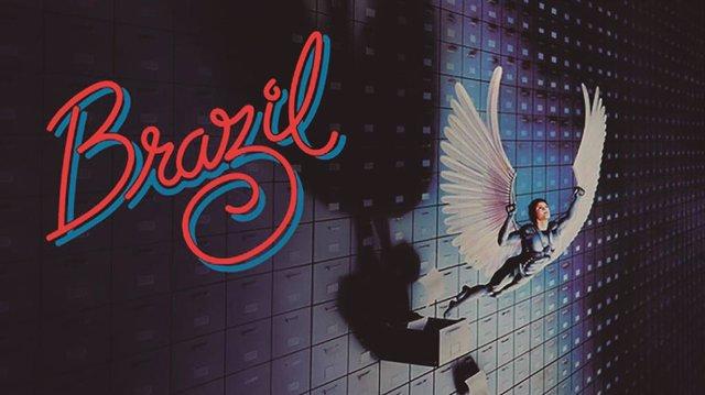 Cartel de la película 'Brazil', de Terry Gilliam