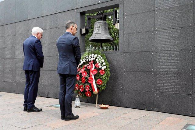 Muro del Recuerdo en Varsovia
