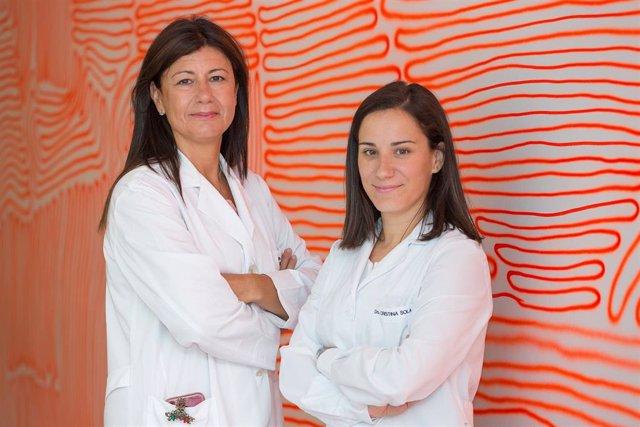Belén Ochoa y Cristina Sola, responsables de los talleres