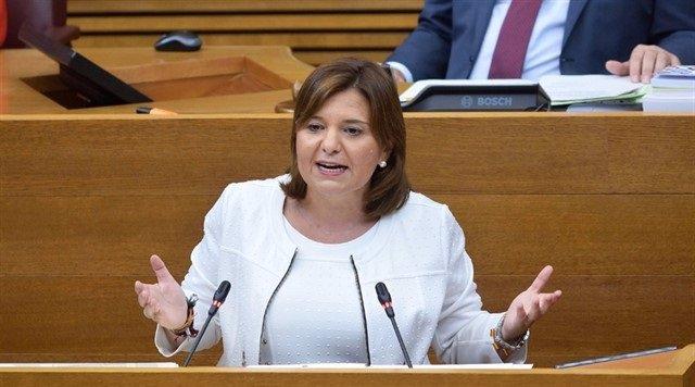 La presindeta del PPCV, Isabel Bonig