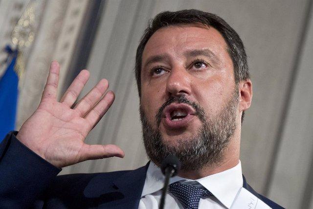 "Italia.- Salvini pide a Mattarella que ponga fin al ""vergonzoso mercado de las p"