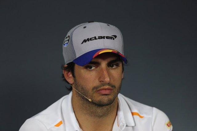 """Fórmula 1/GP Bélgica.- Sainz: """"La Q2 era posible, pero bandera roja y a casa"""""""