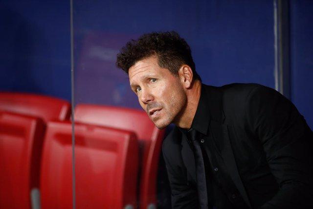 """Fútbol.- Simeone: """"Esperamos que Diego Costa nos dé toda su fortaleza, es muy im"""