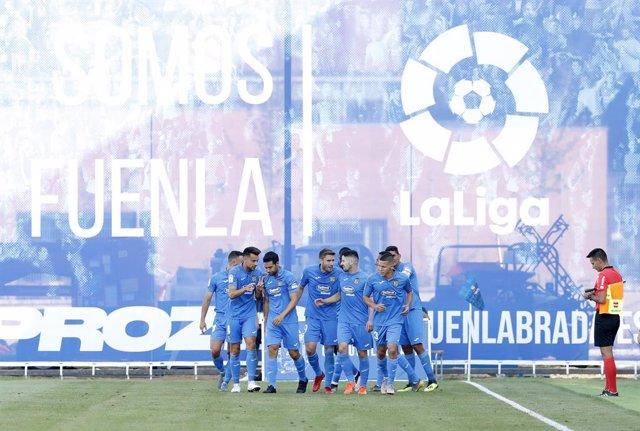 Fútbol/Segunda.- (Crónica) El 'Fuenla' dedica el liderato al Fernando Torres
