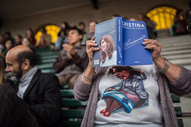 Libro 'Sinceramente' de Cristina Fernández