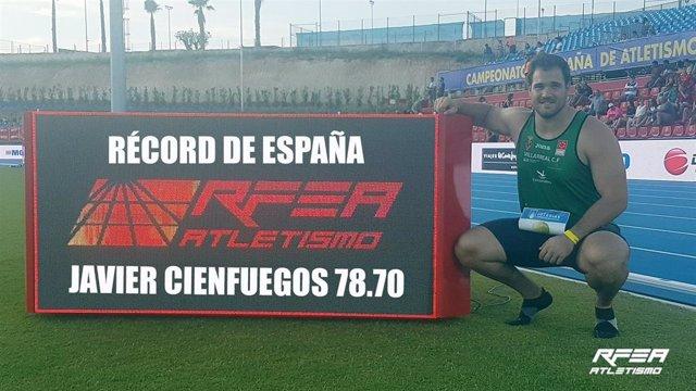 Javier Cienfuegos acapara con récord de España el sábado en La Nucía