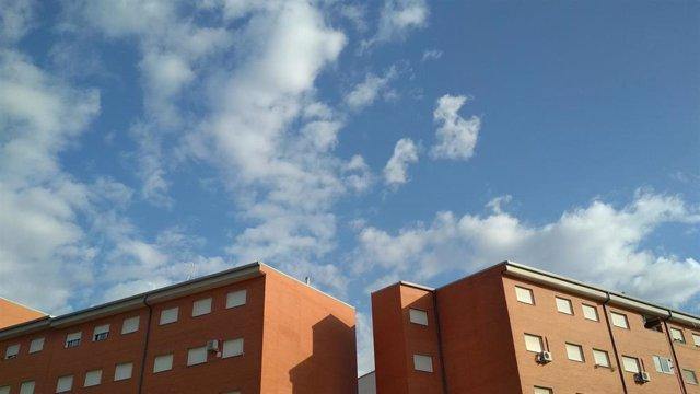 Cielos con nubes en Mérida