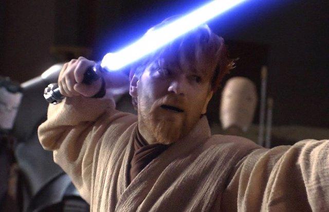 Evan McGregor como Obi Wan Kenobi en Star Wars