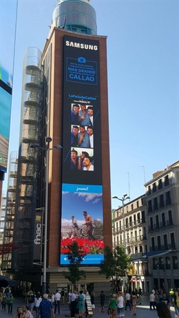 Edificio Fnac de la plaza Callao de Madrid