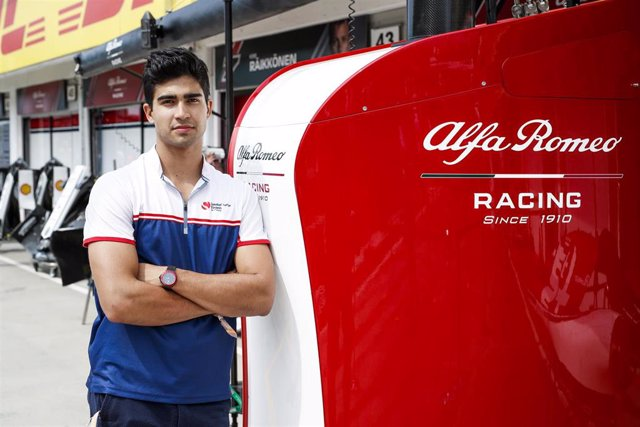 CORREA Juan Manuel (usa), Development Driver of Alfa Romeo Racing, portrait during the 2019 Formula One World Championship, Grand Prix of Hungary from august 1 to 4, Hungaroring, Budapest - Photo Florent Gooden / DPPI