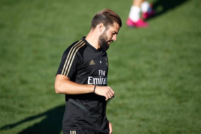 Nacho of Real Madrid during the training day season of Real Madrid CF at Ciudad Deportiva Real Madrid in Valdebebas, Madrid, Spain, on August 23, 2019.