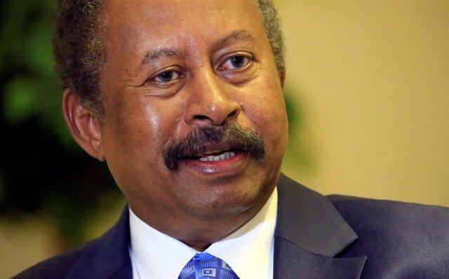 El primer ministro de Sudán, Abdalla Hamdok