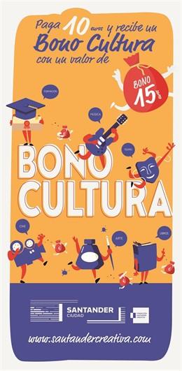 Cartel del bono cultura