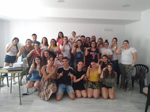 Curso de 'Iniciación a la lengua de signos' celebrado en Antas