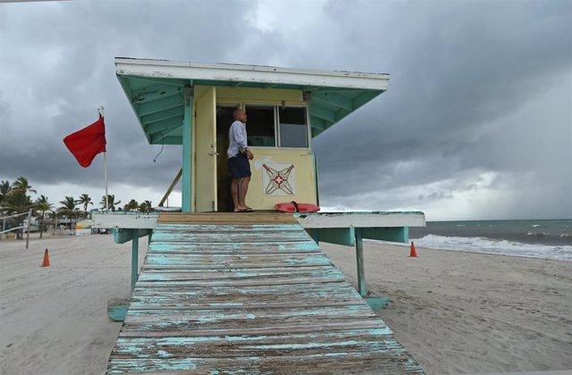 Llegada del huracán 'Dorian'