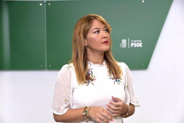 La secretaria general del PSOE de Sevilla y parlamentaria autonómica, Verónica Pérez.