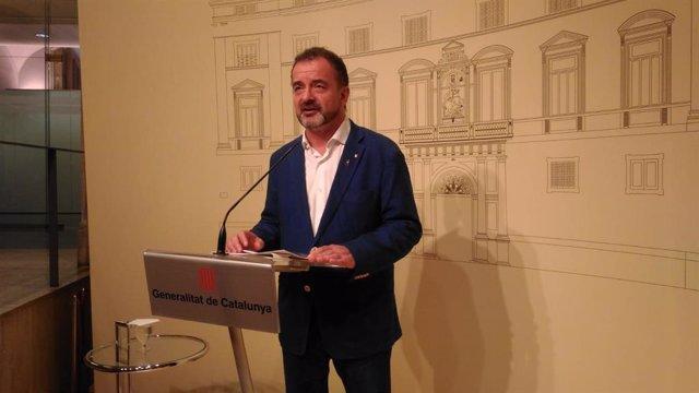 El conseller de Acción Exterior de la Generalitat de Cataluña, Alfred Bosch. Foto de Archivo