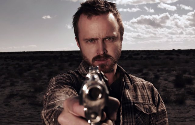 Aaron Paul como Jesse Pinkman en Breaking Bad