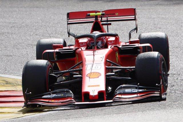 01 September 2019, Belgium, Spa: Ferrari's Monegasque driver Charles Leclerc in action at the Spa-Francorchamps Formula One Grand Prix of Belgium race, in Spa-Francorchamps. Photo: Benoit Doppagne/BELGA/dpa