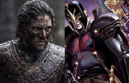 Así será Kit Harington como Black Knight en Los Eternos de Marvel