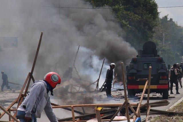 Protestas en Papúa