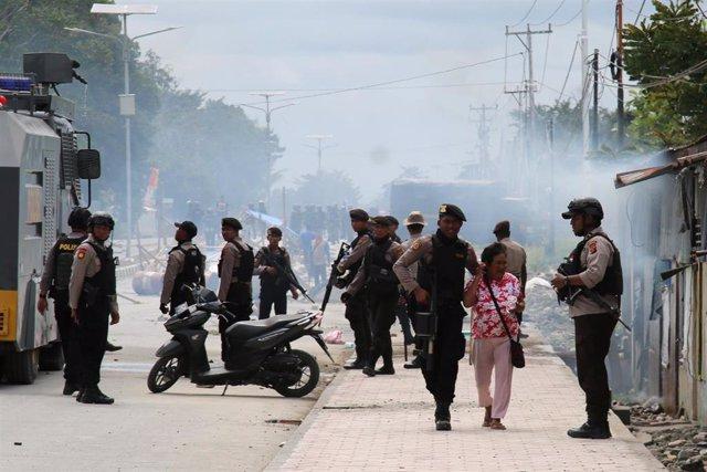 Protestas por la independencia de Papúa