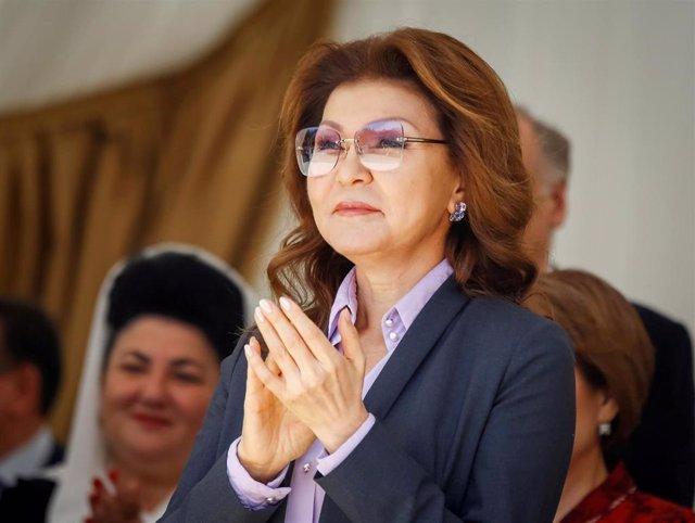 Dariga Nazarbayeva, hija mayor de Nursultán Nazarbayev y nueva presidenta del Senado de Kazajistán