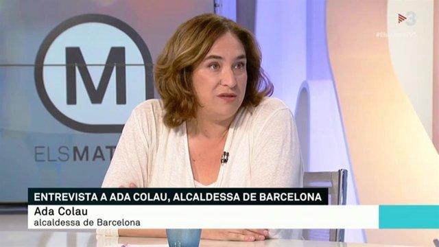Ada Colau en TV3