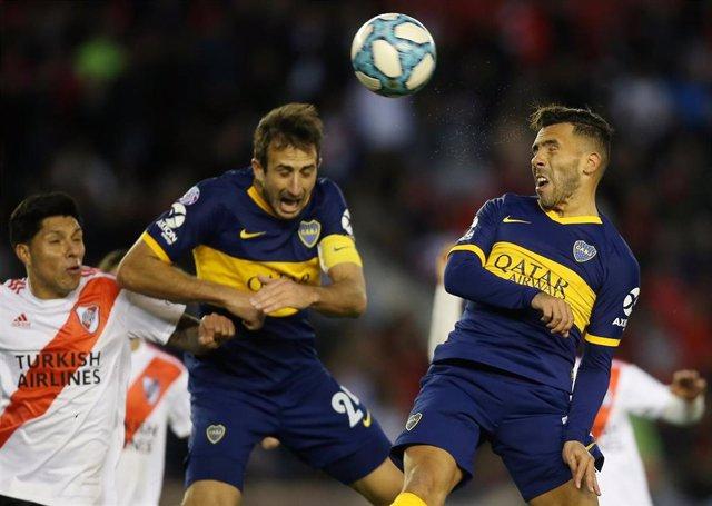 River Plate y Boca Juniors empatan sin goles en el clásico argentino