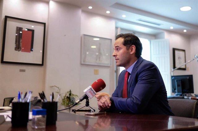 Imagen recurso del vicepresidente de la Comunidad de Madrid Ignacio Aguado