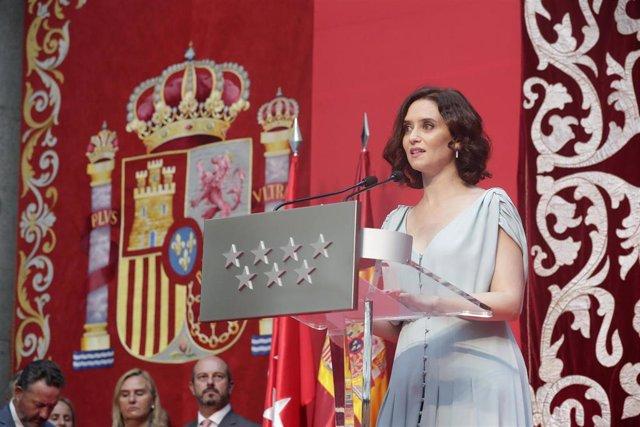 Imagen de recurso de la presidenta de la Comunidad de Madrid, Isabel Dí9az Ayuso.