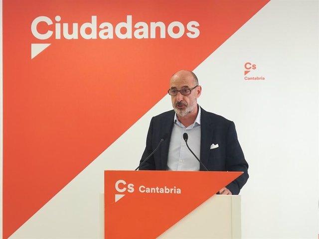 Félix Álvarez, líder y diputado de Cs Cantabria