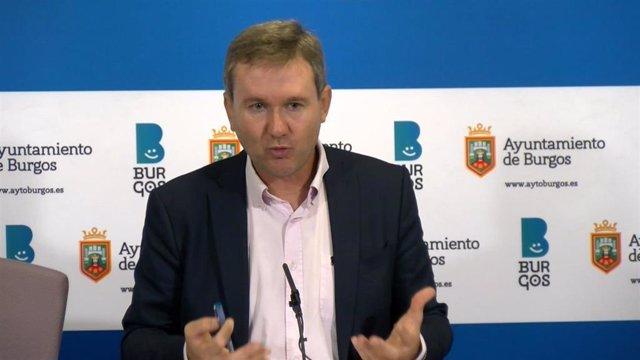 Javier Lacalle, portavoz del Grupo Municipal del PP