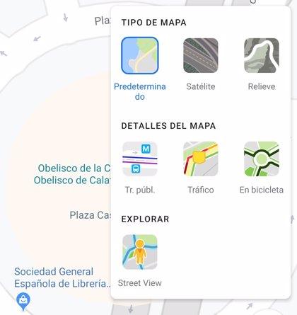 Portaltic.-Google Maps incluye una nueva capa de Street View en su última actualización en Android
