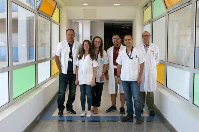 Alergólogos e investigadores del Hospital de La Candelaria