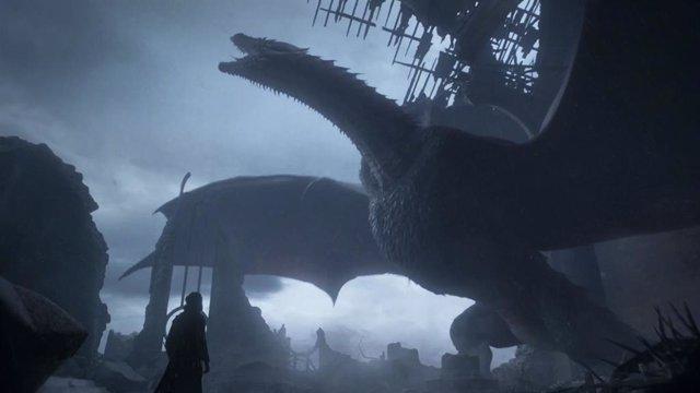 Imagen del capítulo final de Juego de tronos