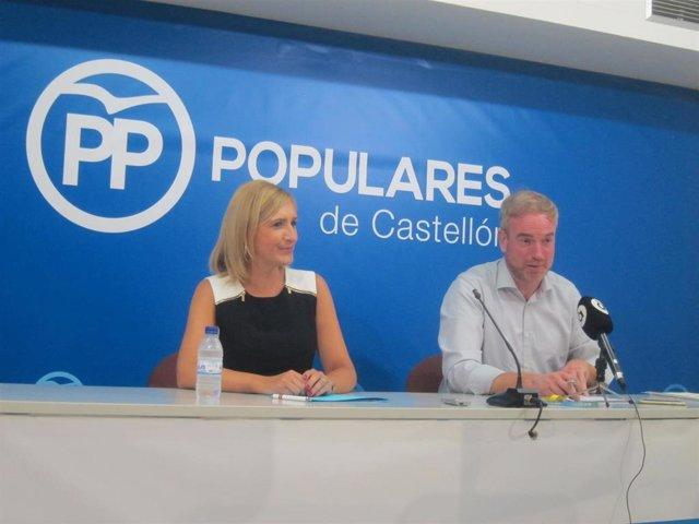Rueda de prensa de Oscar Clavell y Salomé Pradas