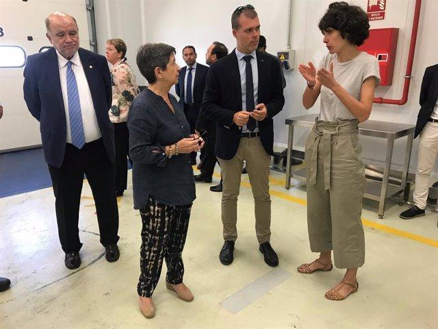 Joan Sabaté, Teresa Cunillera, Josep Maria Cruset i Carmen Merino