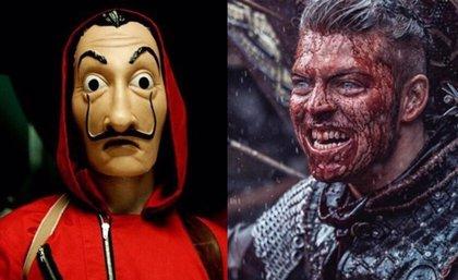 Vikings y La Casa de Papel: Alex Hogh Andersen (Ivar) hace realidad el croosover imposible