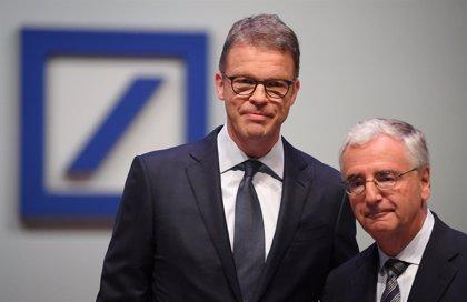 Alemania.- El consejero delegado de Deutsche Bank empleará el 15% de su salario en comprar acciones de la entidad