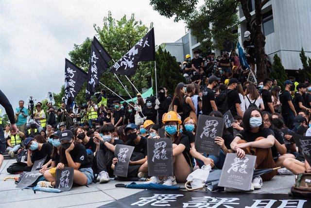 China.- Segunda jornada consecutiva de huelga general en Hong Kong coincidiendo