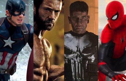 ¿Qué estudio de cine tiene los derechos de cada personaje Marvel?