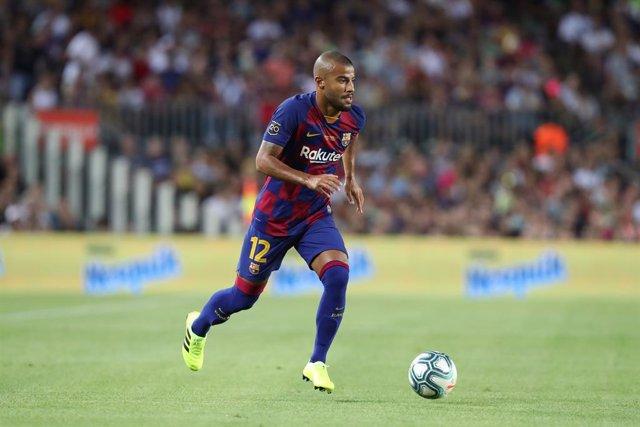 Fútbol.- Rafinha renueva con el Barcelona hasta 2021 y se marcha cedido al Celta