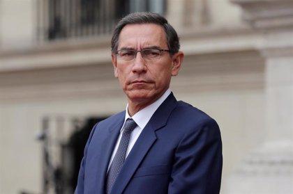 Perú.- Vizcarra convoca al presidente del Congreso de Perú para abordar el adelanto electoral