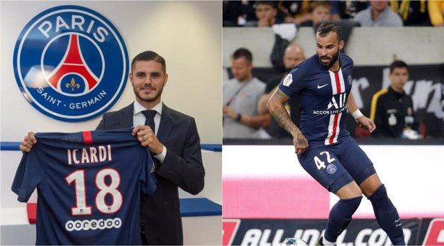 Fútbol.- Mauro Icardi, nuevo jugador del Paris Saint-Germain; Jesé, al Sporting