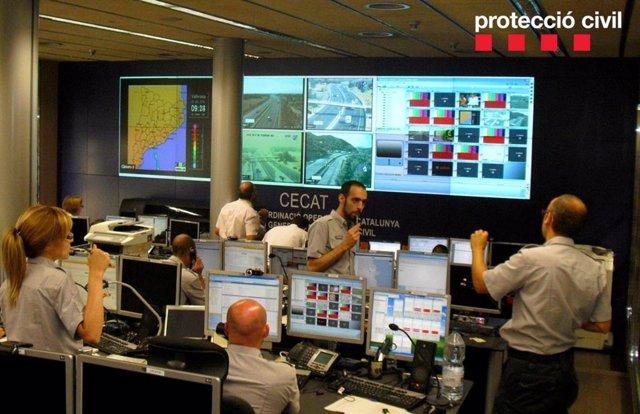 Centro de trabajo de Protección Civil