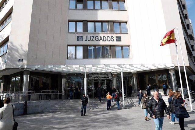 Imagen recurso del exterior de los Juzgados de Plaza de Castilla