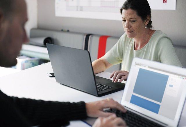 Oficina, trabajo, Seguridad Social