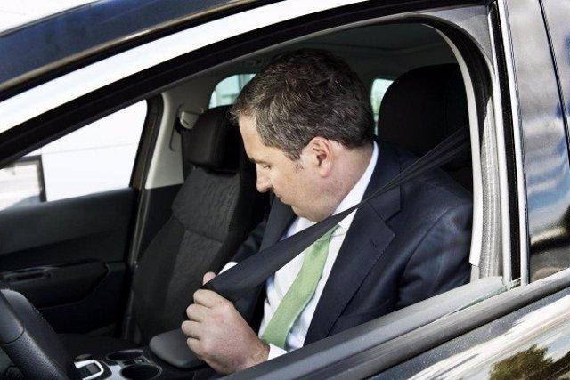 Recurso de conductor, cinturón de seguridad.