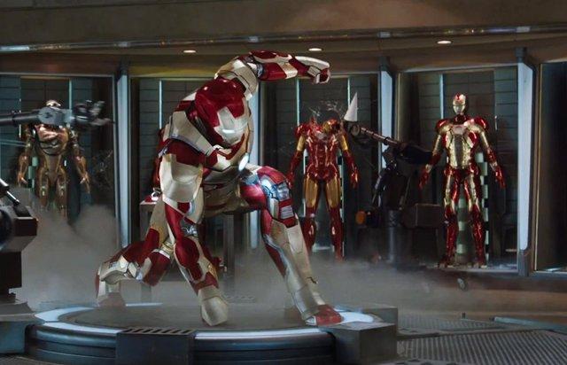 Imagen de Robert Downey Jr en Iron Man 3